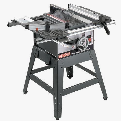 "new 10"" craftsman table saw"