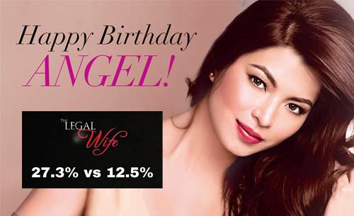 The Legal Wife sets highest rating on Angel Locsin's birthday