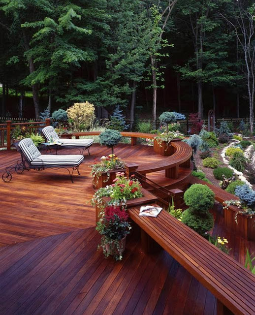 Amazing Wooden deck