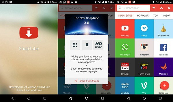 Best Video Downloader For Android|SnapTube Apk | Phone ...