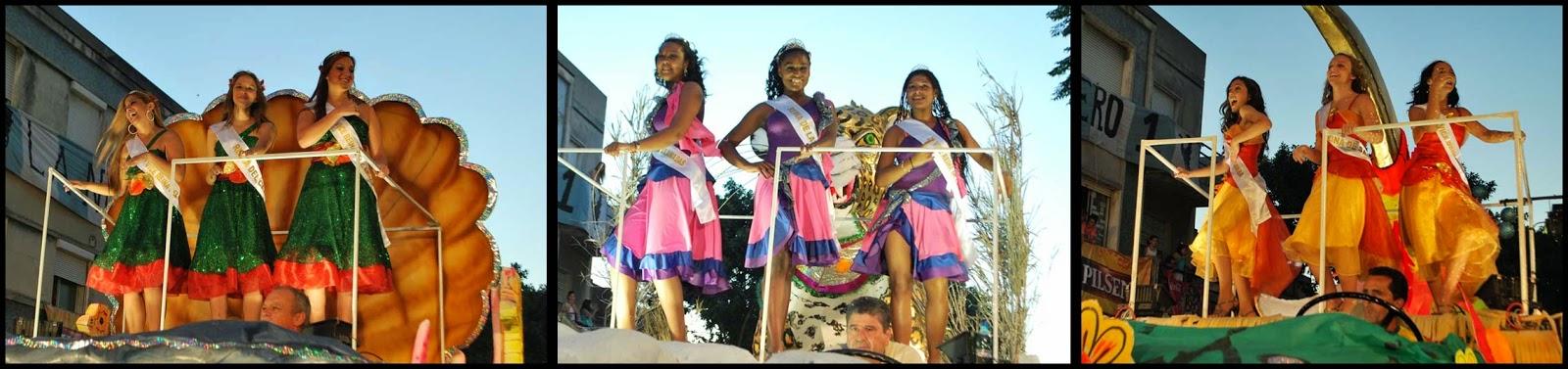 Desfile de Llamadas.Reinas. Montevideo. 2011.