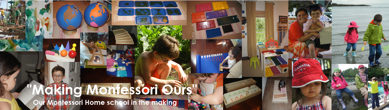 """Making Montessori Ours"""