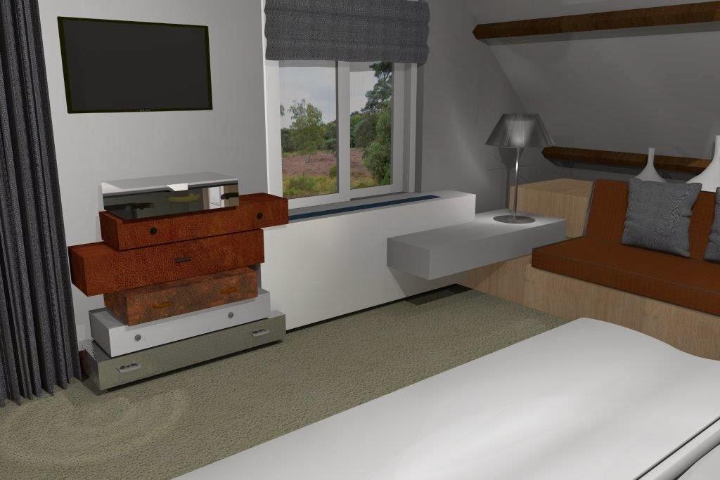 ... : Slaapkamer ontwerpen voor mijn klanten in Huizen (NH