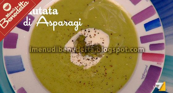 Vellutata di Asparagi con Crème fraîche di Benedetta Parodi