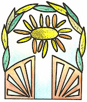öppna portar i Kristinestad - evenemangets logo