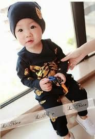 foto bayi laki-laki keren dan lucu