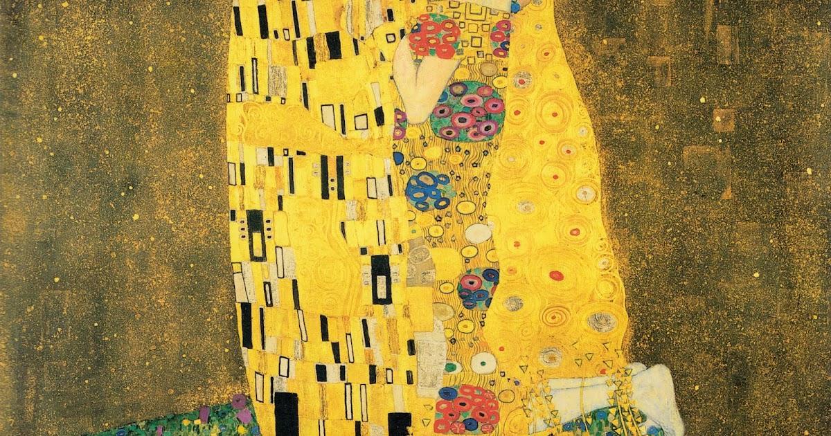 Klimt The Kiss Wallpaper THE FINE ART DINER: Th...