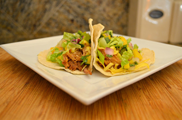 Slow Cooked Pork Carnitas Tacos