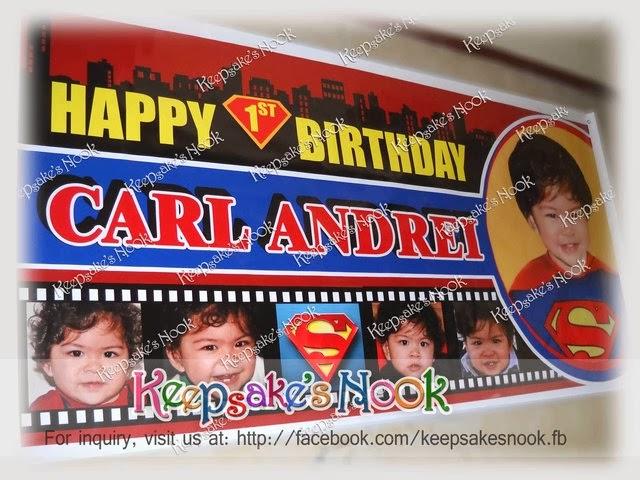 Keepsakes Nook Superman Birthday