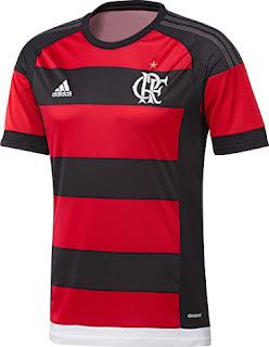 berita bocoran dan gambar render Jersey Flamengo home terbaru untuk musim 2015/2016