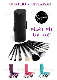 Sorteio / Giveaway: 01 Make Me Up Kit da Sigma Beauty!