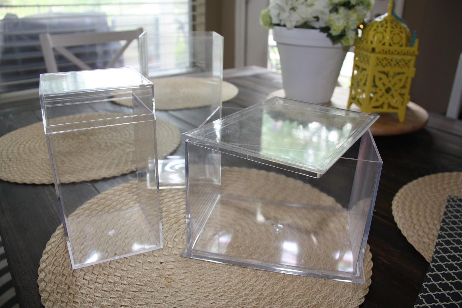 Decorative Bathroom Counter Storage : Diy lori decorative counter top storage