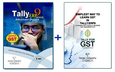 Get.. Tally.ERP 9 Book + GST Assignment (2 Books) @ Rs.550