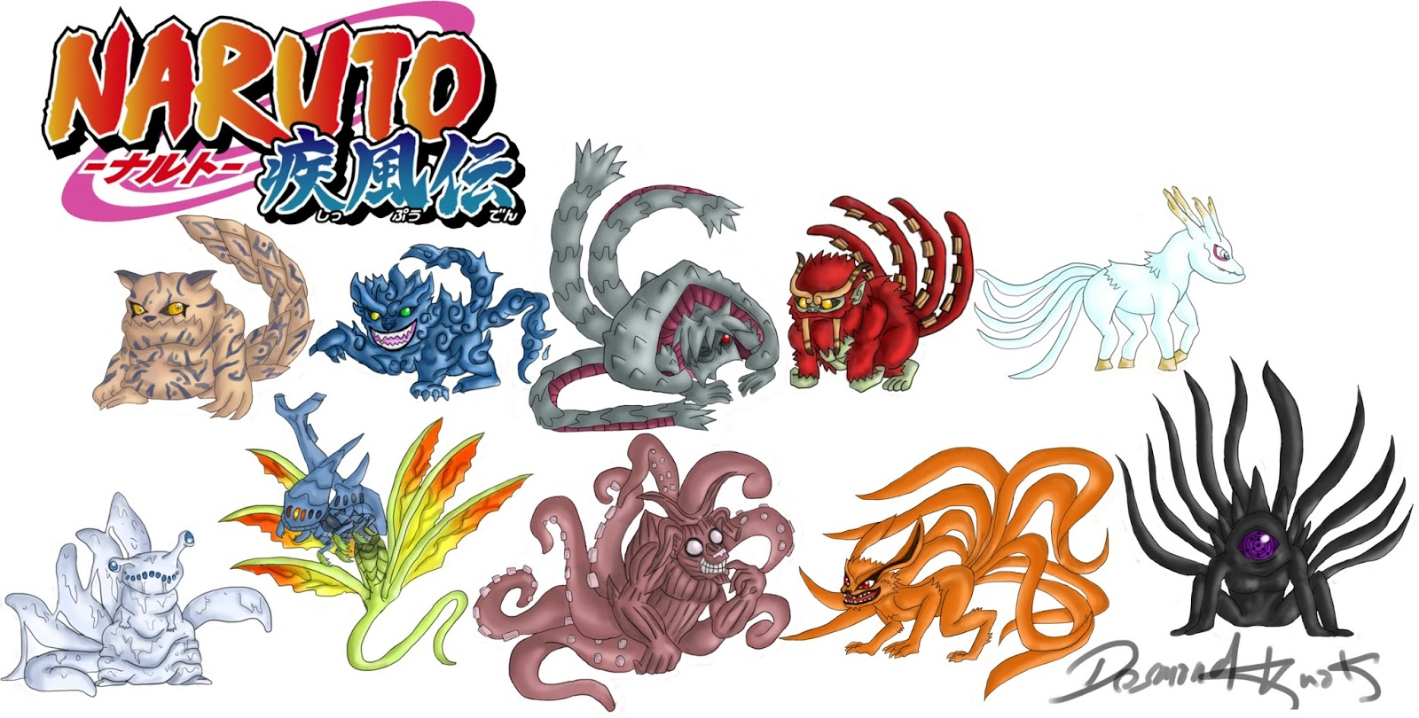I am Clarkiilicious: #Bijuus [Tailed BEASTS] in NARUTO