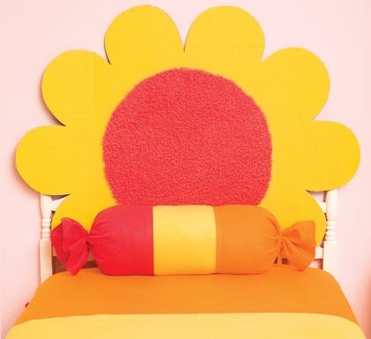 Cabecero de cama infantil