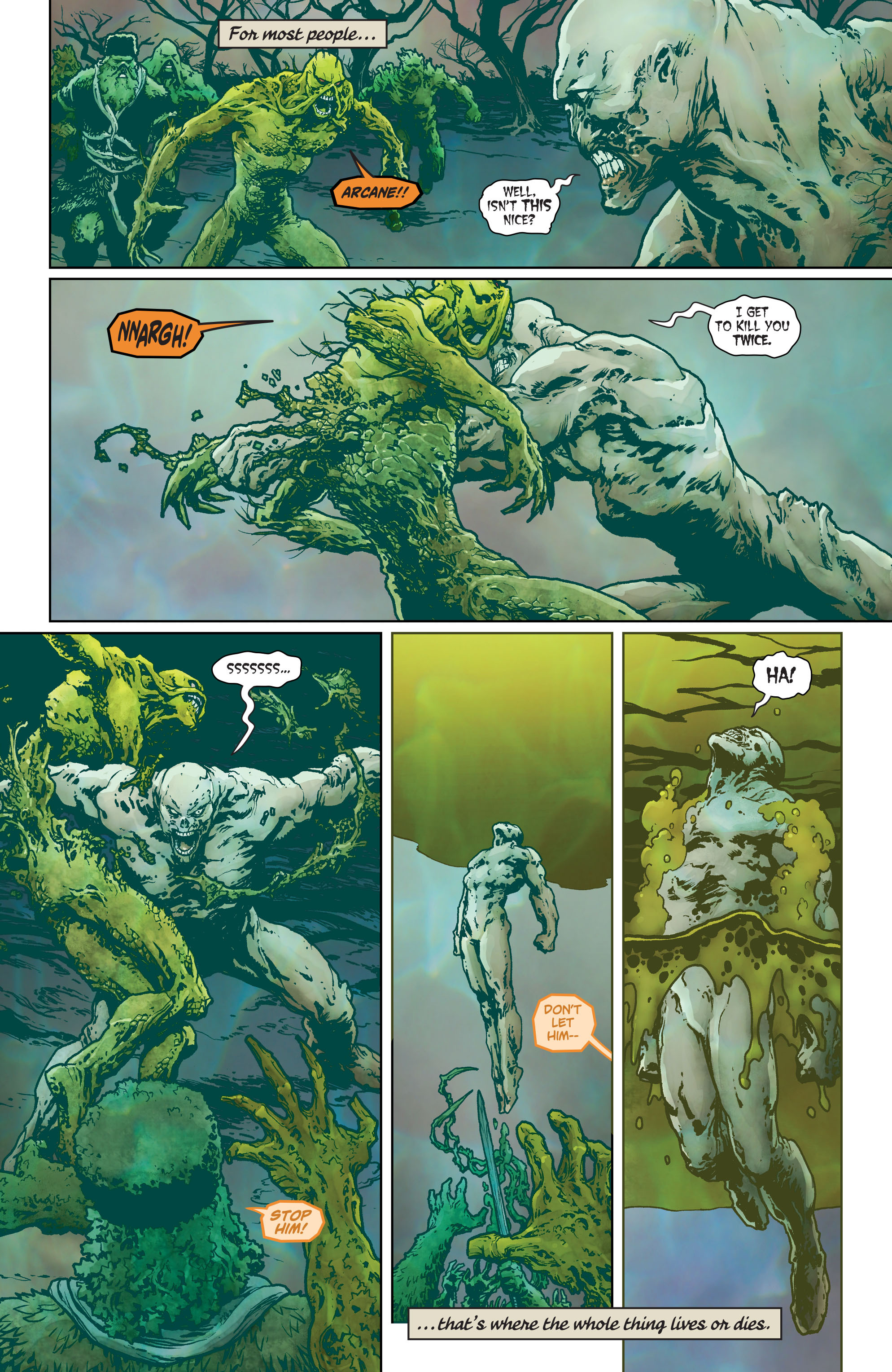 Swamp Thing (2011) Issue #40 #45 - English 3
