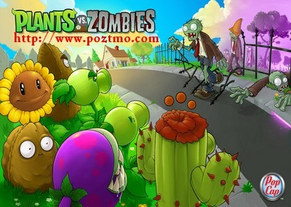 play game online plant vs zombie