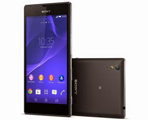 Spesifikasi dan Harga Sony Xperia T3 Terbaru, Phablet Android Quad Core Kamera 8 MP