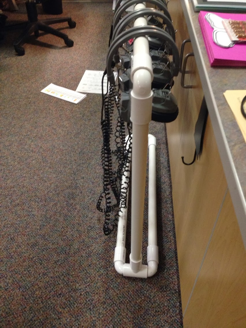 Pvc pipe solutions organized classroom for Pvc pipe projects ideas