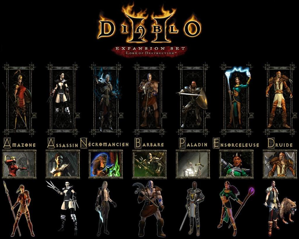 Diablo HD & Widescreen Wallpaper 0.440098279483633