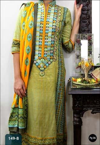 VS Textile Presents Designer Lawn Series Collection 2014