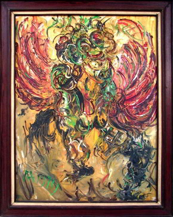 Lukisan Affandi Burung Jatayu