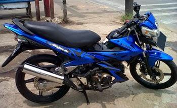 Kawasaki Athlete Biru