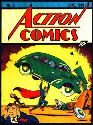 Superman Action comics numero 1