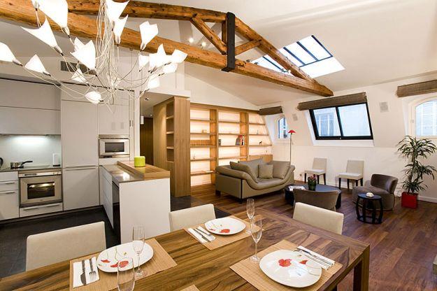 sala y cocina en un solo ambiente ideas para decorar