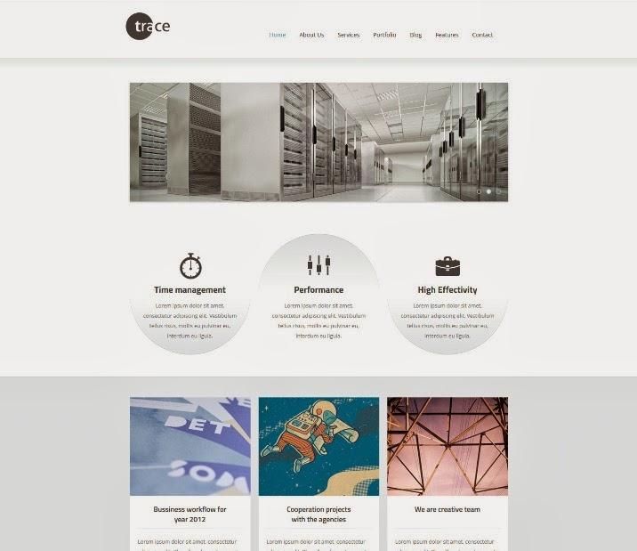 trace - drupal responsive theme