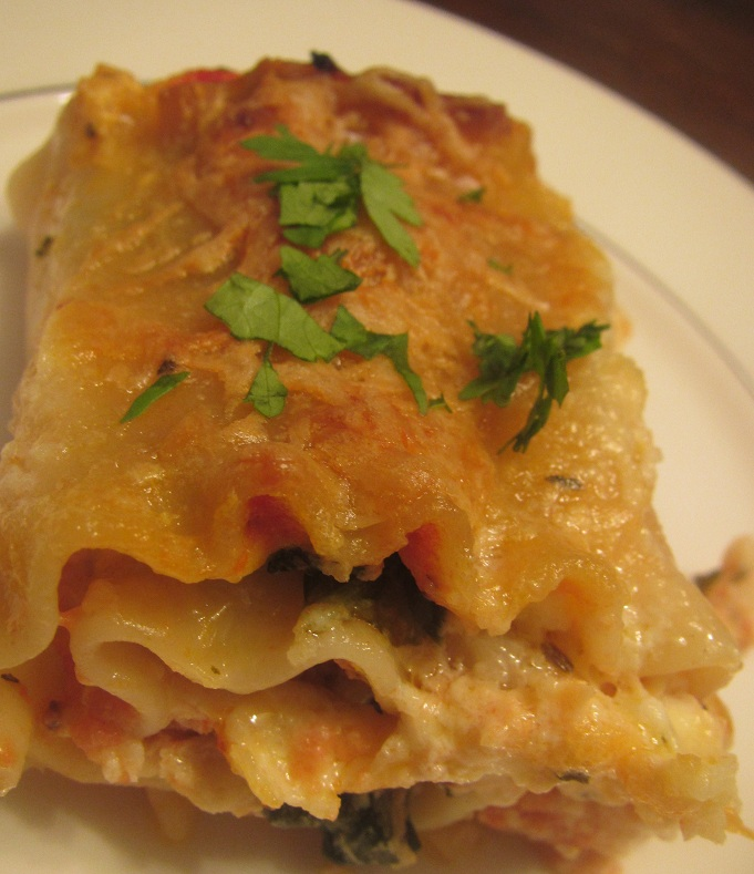 Lasagna Chicken Roll
