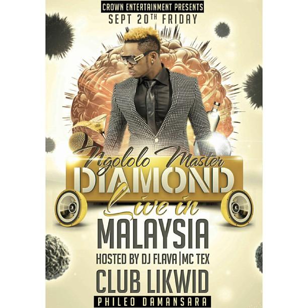 Esma Platinum: SWP: DIAMOND PLATINUMZ TO PERFORM IN MALAYSIA THIS SEPTEMBER