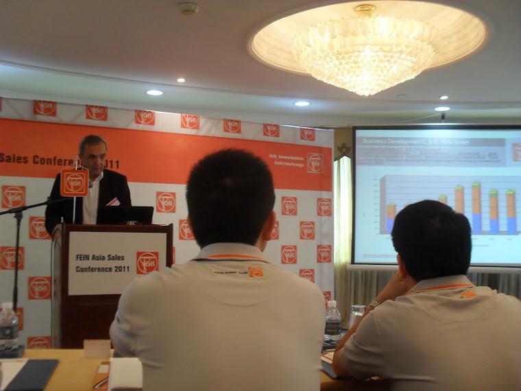 Hội nghị Sales 2011 tại Thượng Hải