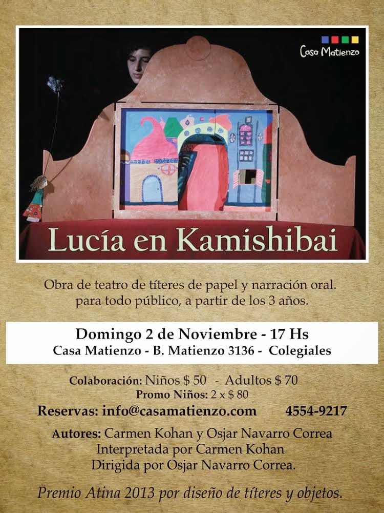 LUCÍA EN KAMISHIBAI.