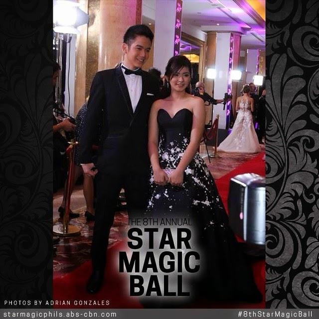 Star Magic Ball 2014 Shaina Magdayao Star M...