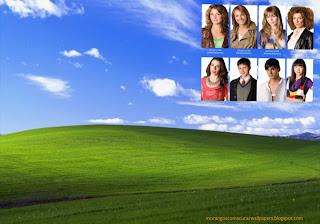 Wallpapers dos Morangos com Açucar Painel de Jovens atores em fundo de tela Paisagem do Alentejo