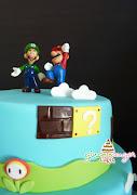 Mario Bros Cake ~ William's 5th Birthday