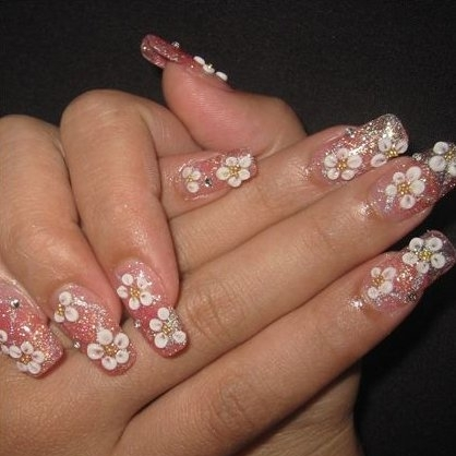 Nail trends summer 2012 nail designs 2013 nail art designs you can choose some new and popular patterns for your summer nail designs such as flowers stars hearts funny pattern or nails with jewels prinsesfo Image collections