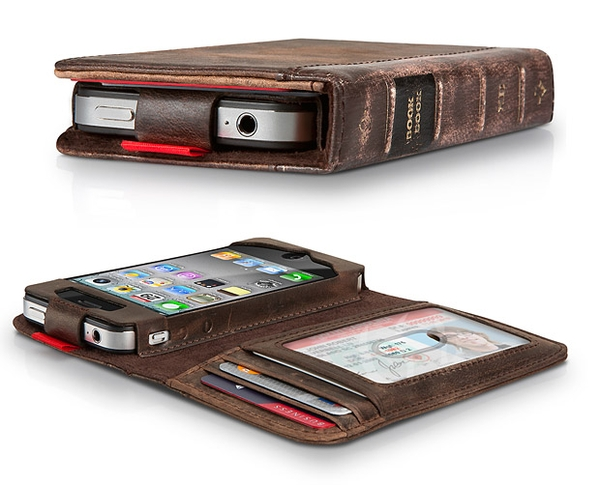 Old Book Cover Iphone : Agb style iphone wallet case