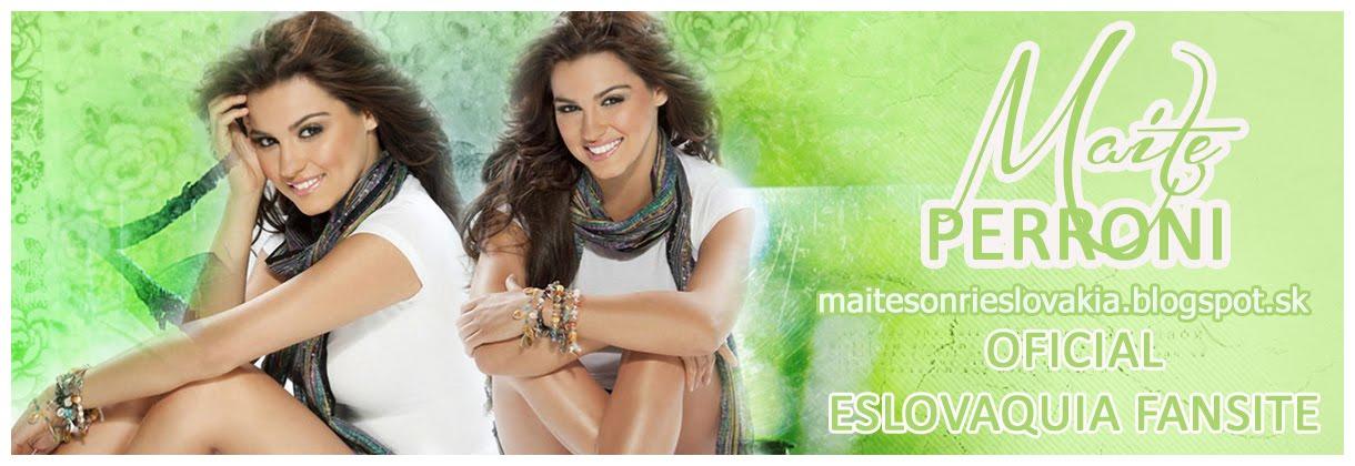 Maite Perroni - Oficial Slovak fansite