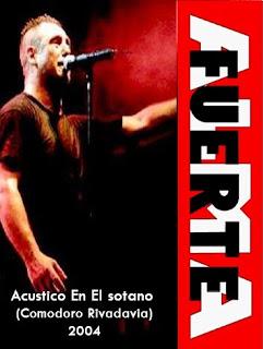 Almafuerte: Acústico en El Sótano - Comodoro Rivadavia