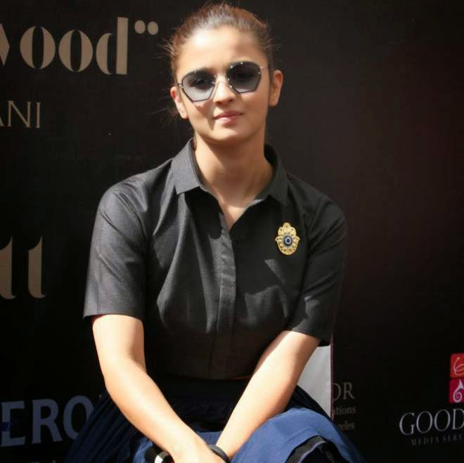 Alia Bhatt Stills at I Hate Bollywood Book Launch Photos