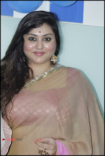 Namitha Latest Pictures in Saree at Womens Fitness Center Launch  0002.jpg