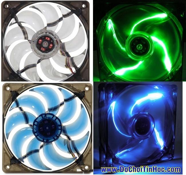PHỤ KIỆN high-end PC: Tản nhiệt CPU, keo cao cấp, FAN 8-23cm, đồ mod PC, HÀNG ĐỘC!!! - 28