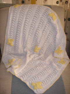 ROW COUNT BUTTERFLY AFGHAN SQUARE Crochet Pattern - Free