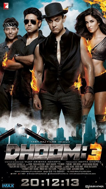 Brand New Poster of Dhoom 3 Movie