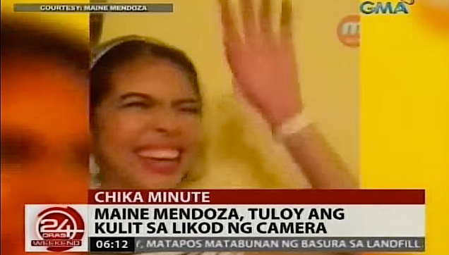 Maine Mendoza's humorous antics on and off camera