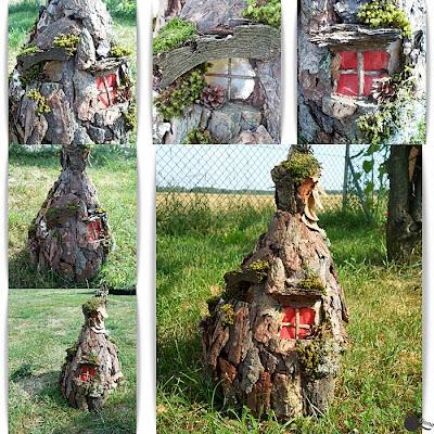 Tarasowa latarenka, czyli domek z balona i bogactw natury.