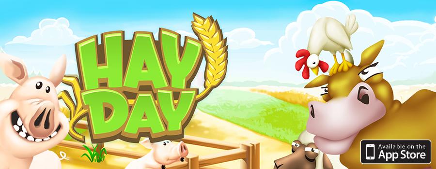 Hay Day gratis para tus dispositivos móviles