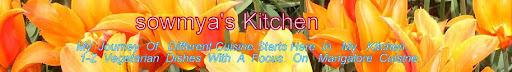 SOWMYA'S KITCHEN